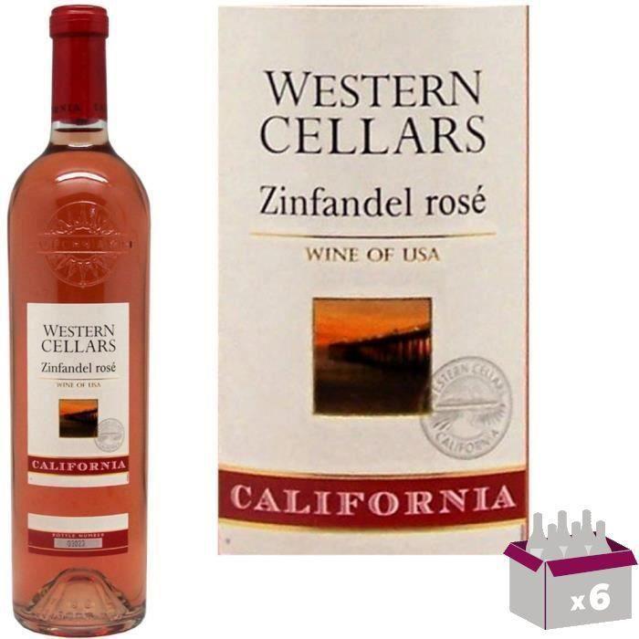 Western Cellars Zinfandel California - Vin Rosé des Etats-Unis
