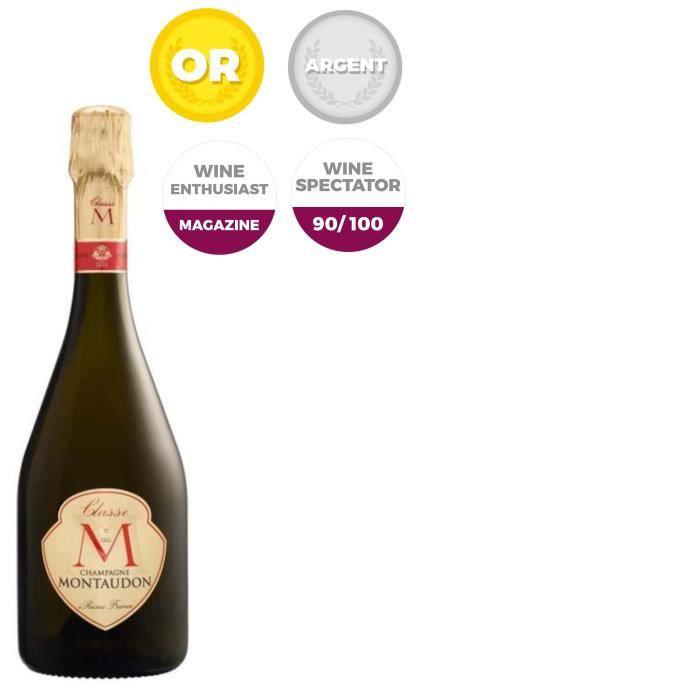 Champagne Montaudon Cuvée Classe M Brut - 75 cl