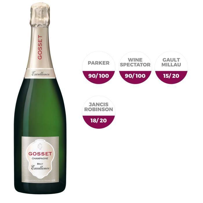 Champagne Gosset Excellence Brut - 75 cl