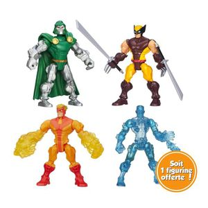 HERO MASHERS Pack de 4 figurines 15cm