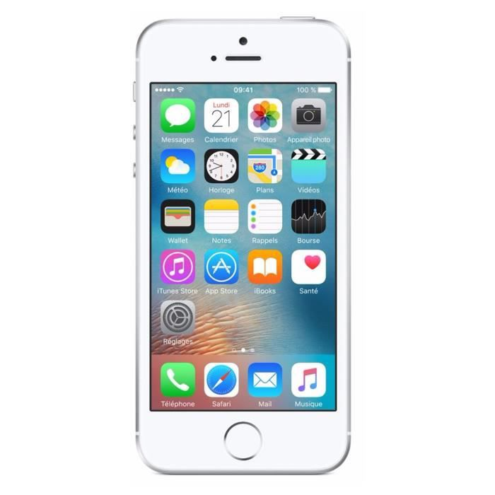 Apple iPhone SE 128 Go Silver