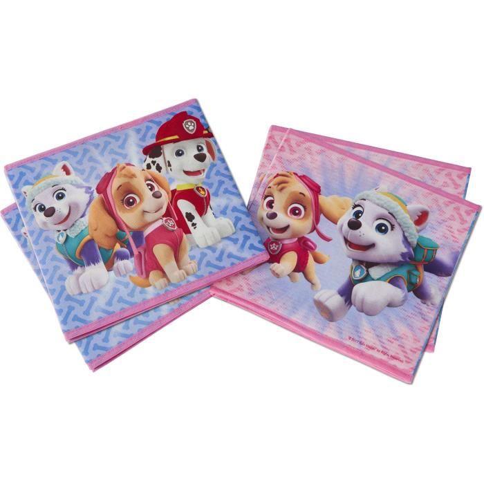 PAT'PATROUILLE Cubes de rangement pour jouets - Fille