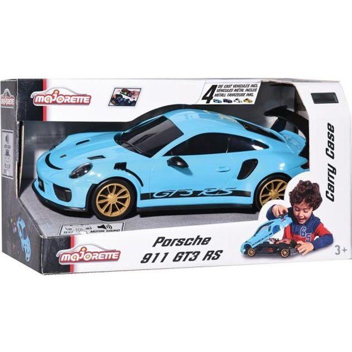 MAJORETTE Porsche Carry Case + 4 Véhicules