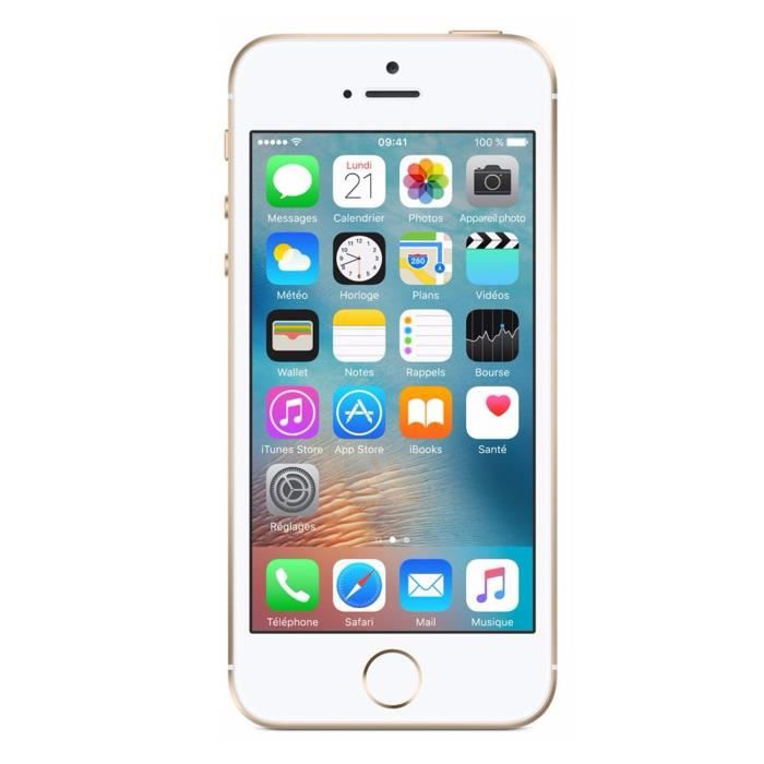 Apple iPhone SE 32 Go Or