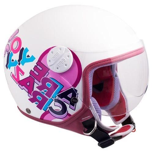 CGM Casque Jet Kid 205G Sport Rose