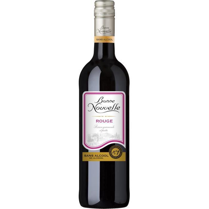 Bonne Nouvelle - Classique - Rouge - Boisson à Base de Raisin - Sans Alcool