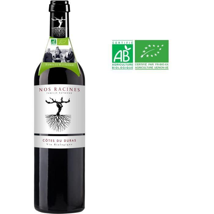 Nos Racines 2016 Côtes de Duras - Vin rouge du Sud-Ouest - Bio
