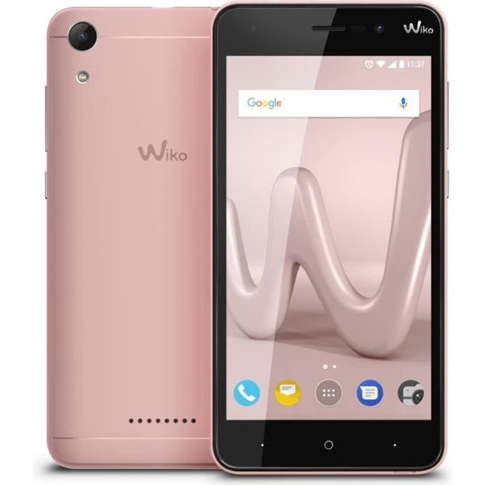 Wiko Lenny 4 Rose Or