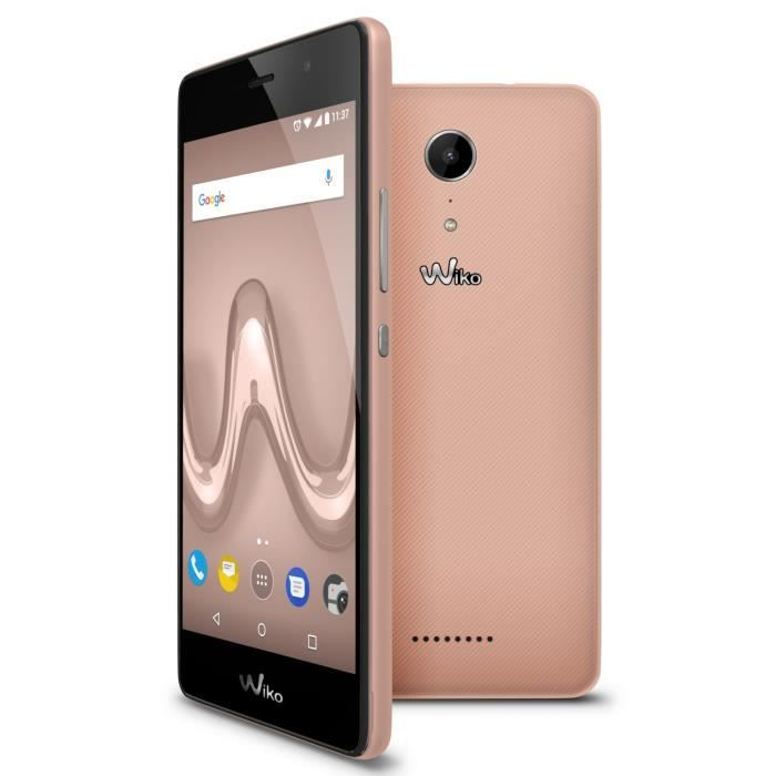 Wiko Tommy 2 Rose Or