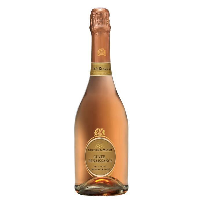 Gratien & Meyer Cuvée Renaissance - Crémant de Loire Rosé