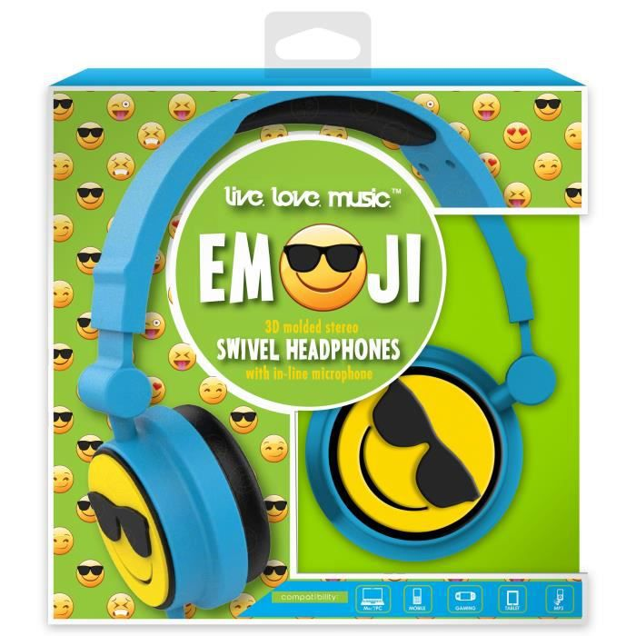 DGL TOYS casque audio enfant audio Emoticon Soleil