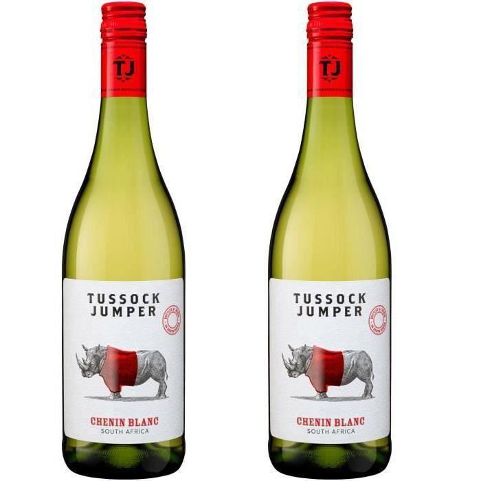 2ème à -50% - Tussock Jumper 2019 Chenin - Vin blanc d'Afrique du Sud