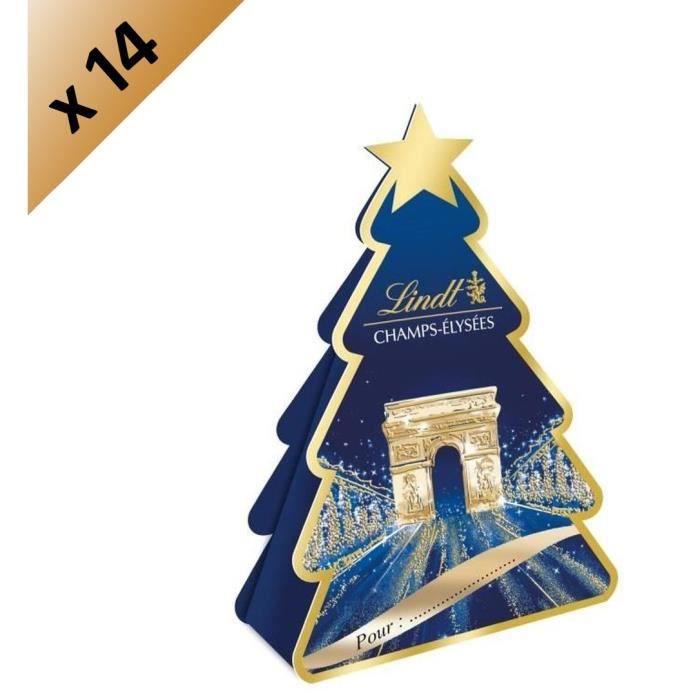 [LOT DE 14] LINDT Sapin Champs-Elysées Assorti - 40 g