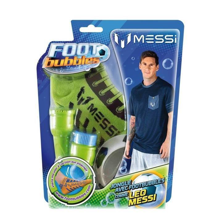 Foot Bubbles Lionel Messi – STARTER PACK – 2 chaussettes – 4 couleurs assorties