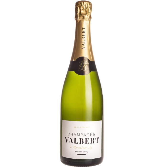 Champagne Valbert Millésimé 2009 Brut - 75 cl