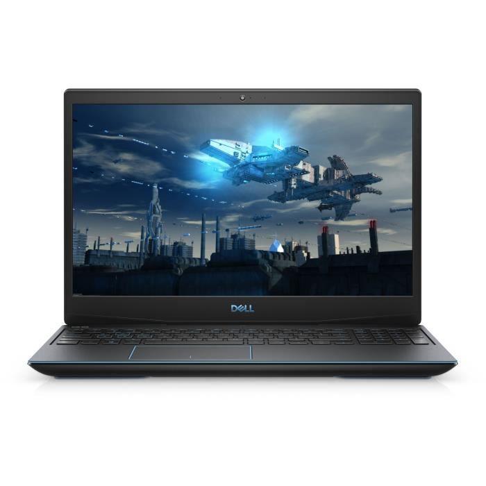 DELL PC Portable - G3 15 3590 - 15,6- FHD - Core i5-9300H - RAM 8Go - 1To HDD + 256Go SSD - GeForce GTX 1050 3Go - Windows 10
