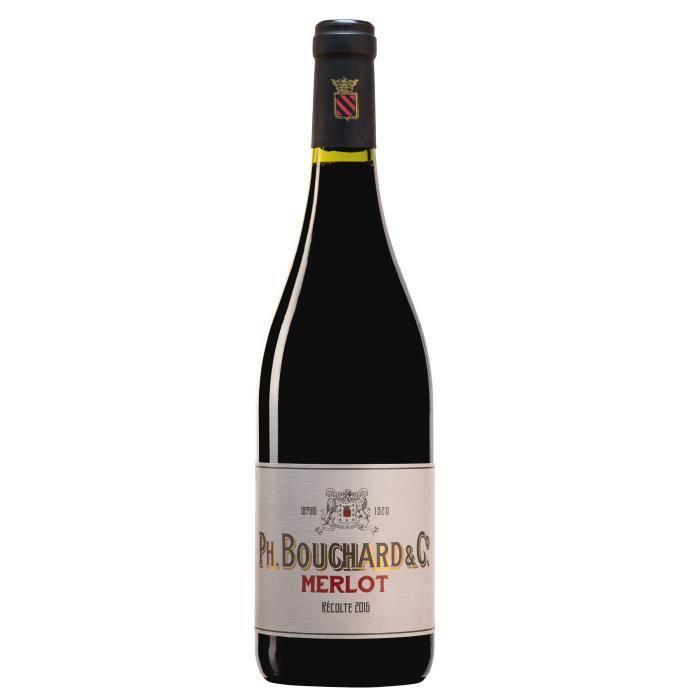 Philippe Bouchard Merlot - Vin rouge du Languedoc Roussillon