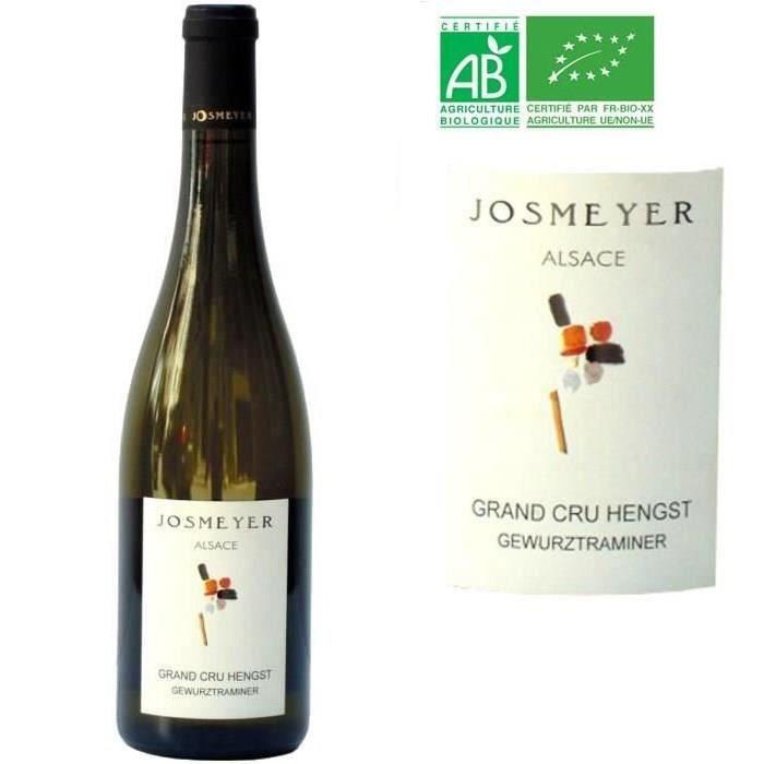 Domaine Josmeyer 2001 Gewurztraminer - Vin blanc d'Alsace