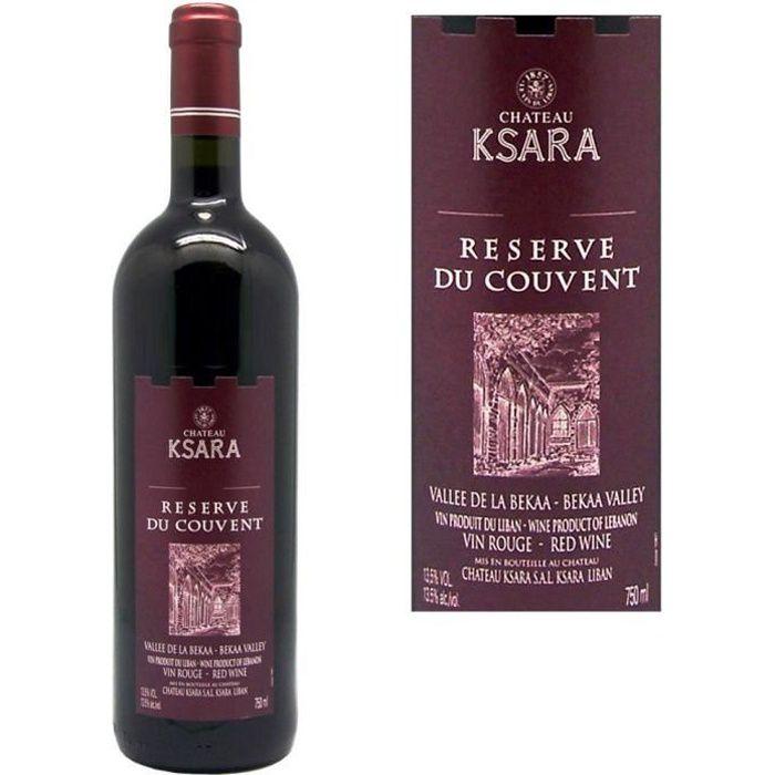 Château Ksara Réserve du Couvent Vallée de la Bekaa - Vin rouge du Liban