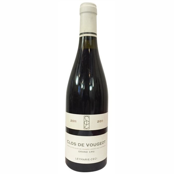 Domaine Leymarie-Ceci Clos Vougeot 2011 Vougeot Grand Cru - Vin rouge de Bourgogne