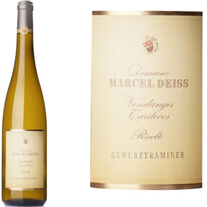 Domaine Deiss 2014 Gewurztraminer Vendanges Tardives - Vin blanc d'Alsace