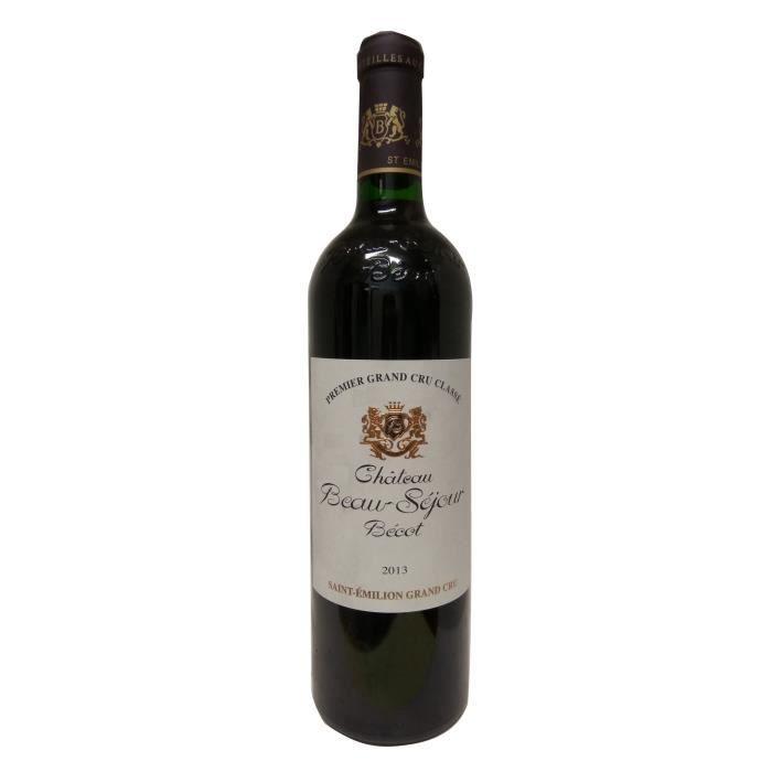 Château Beau-Séjour Bécot 2013 Saint Emilion Grand Cru - Vin rouge de Bordeaux