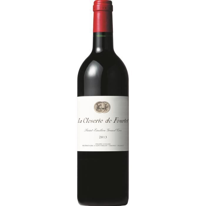 Closerie de Fourtet 2013 Saint Emilion Grand Cru - Vin rouge de Bordeaux