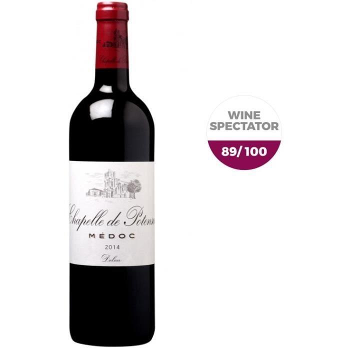 Chapelle de Potensac Médoc 2014 - Vin Rouge de Bordeaux
