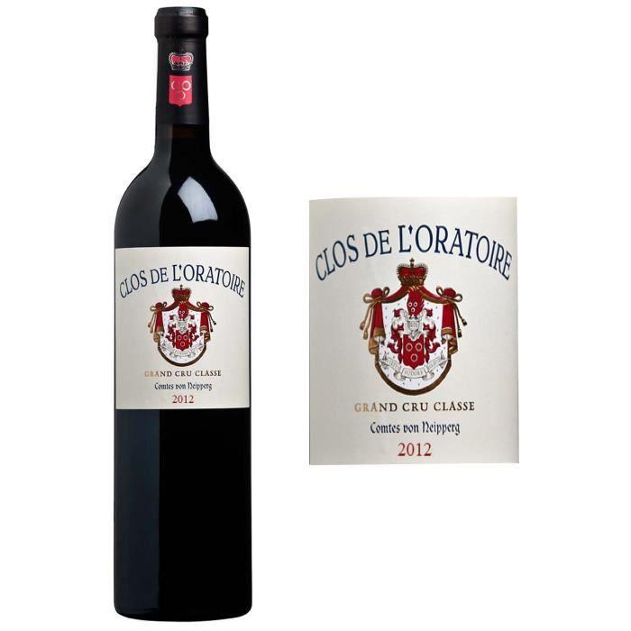 Clos de l'Oratoire 2014 Saint-Emilion Grand Cru - Vin rouge de Bordeaux