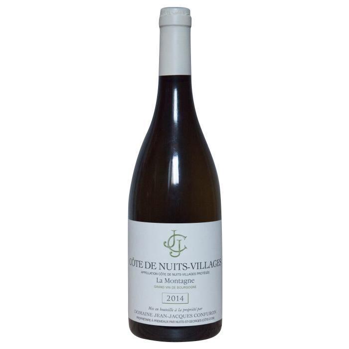 Domaine Jean Jacques Confuron 2014 Côtes de Nuits-Villages La Montagne - Vin blanc de Bourgogne