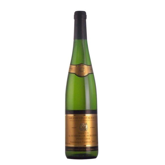 Gustave Lorentz 2014 Pinot Gris - Vin blanc d'Alsace - Bio