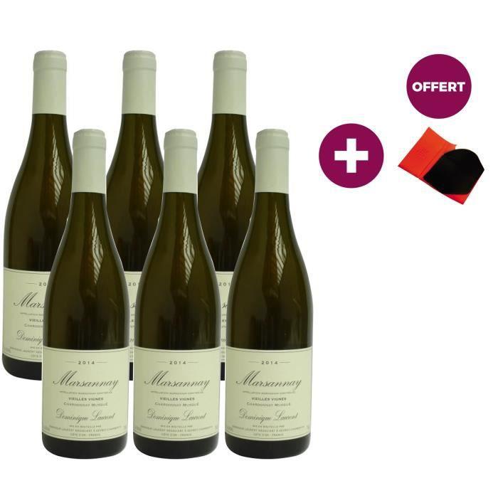 Dominique Laurent Marsannay Vieilles Vignes 2014 - Vin blanc + Gant à huitres OFFERT