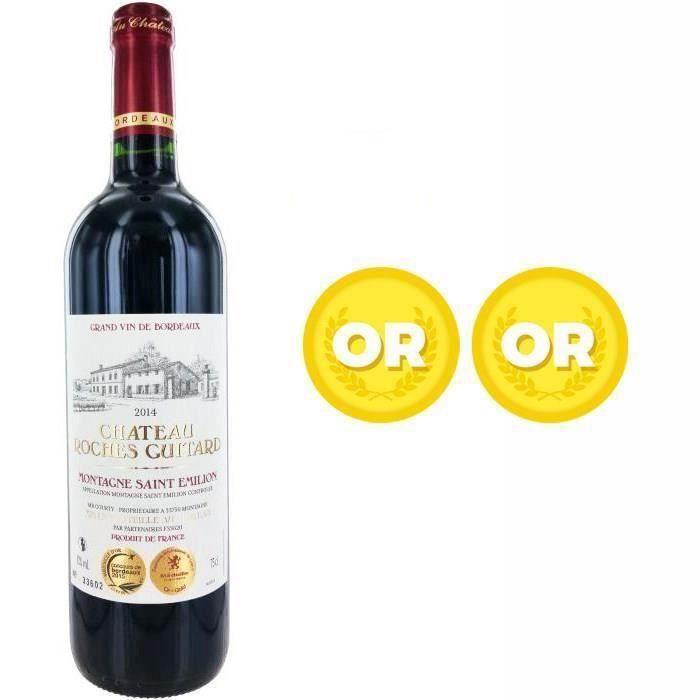 Château Roches Guitard Montagne 2014 Montagnes Saint-Emilion - Vin rouge de Bordeaux