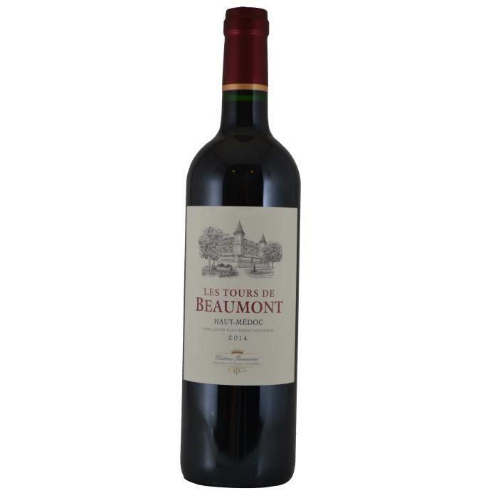 Château Tour de Beaumont 2014 Haut-Médoc - Vin rouge de Bordeaux