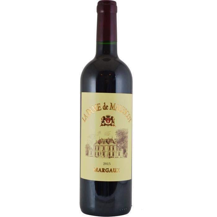 La Dame de Malescot 2015 Margaux - Vin rouge de Bordeaux
