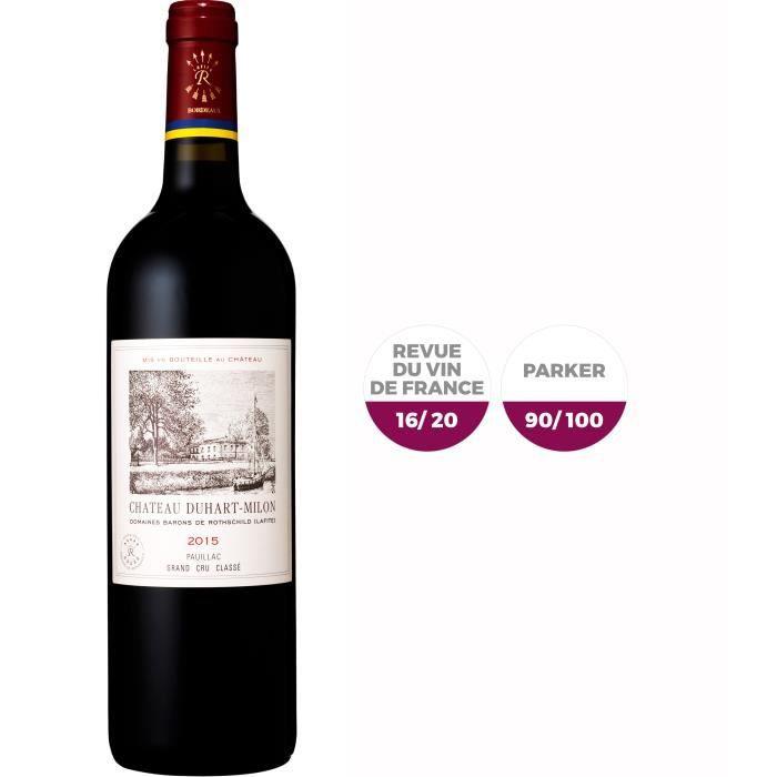 Château Duhart-Milon Rothschild 2015 Pauillac 2015 - Vin rouge de Bordeaux