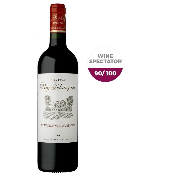 Château Puy-Blanquet 2015 Saint-Emilion - Vin rouge de Bordeaux