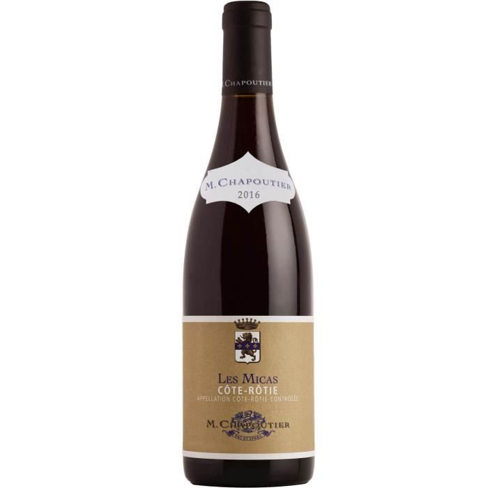 M. Chapoutier Les Micas 2016 Côte-Rôtie - Vin rouge de la Vallée du Rhône