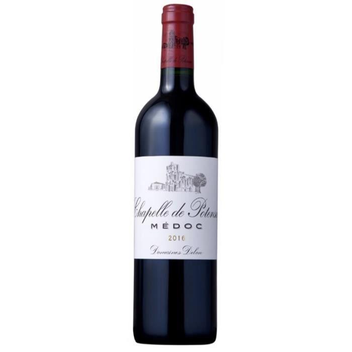 Chapelle de Potensac 2016 Médoc - Vin rouge de Bordeaux