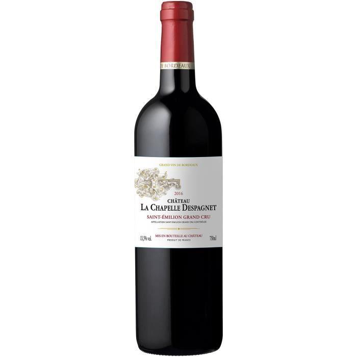 Château La Chapelle d'espagnet 2016 Saint-Emilion Grand Cru - Vin rouge de Bordeaux