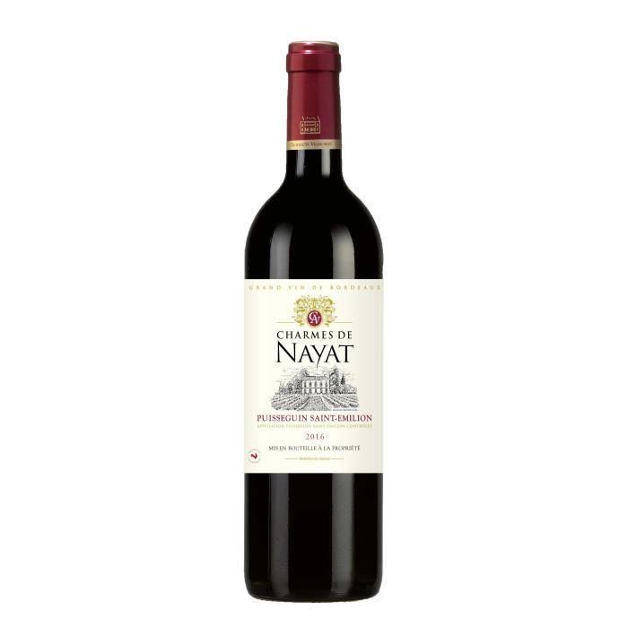 Les Charmes de Nayat 2016 Puisseguin Saint Emilion - Vin rouge du Bordelais