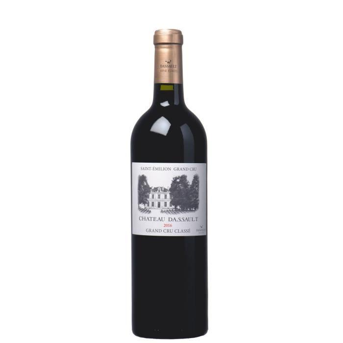 Château DASSAULT 2016 Grand Cru Classé Saint-Emilion - Vin Rouge du Bordelais