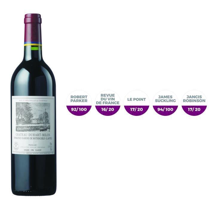 Château Duhart Milon 2016 Pauillac - Vin Rouge de Bordeaux