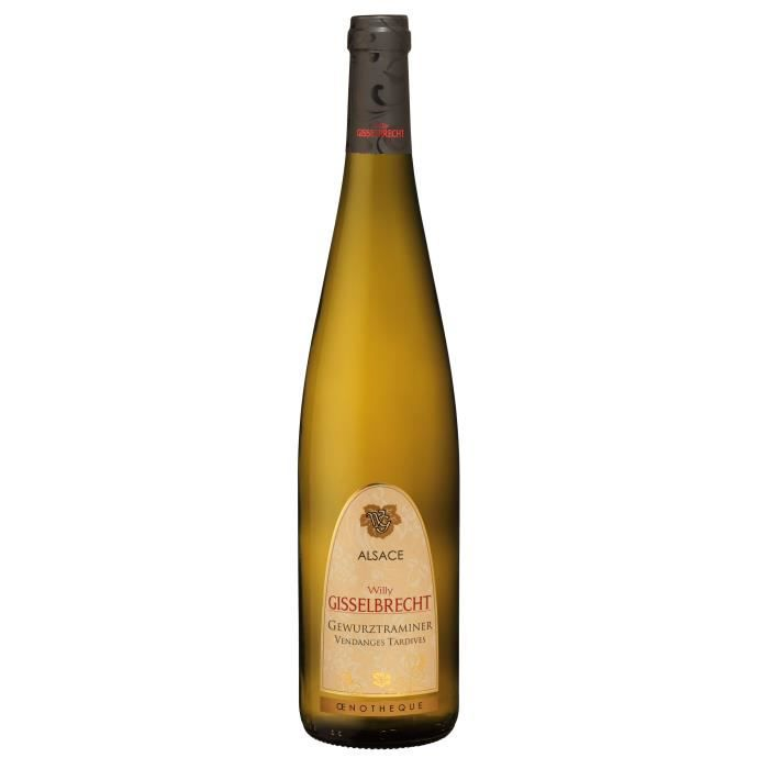 Gisselbrecht 2017 Gewürztraminer Vendanges Tardives - Vin blanc d'Alsace
