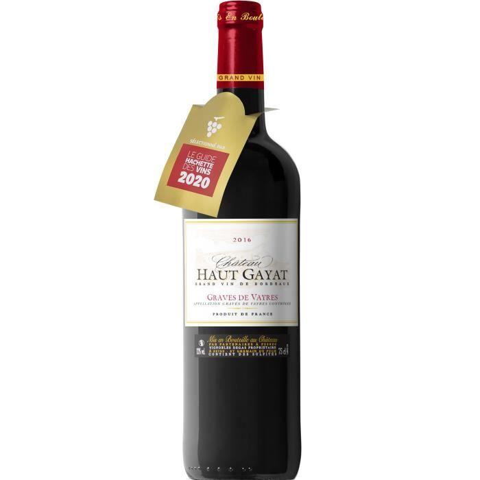 Château Haut Gayat 2016 Graves de Vayres - Vin rouge de Bordeaux