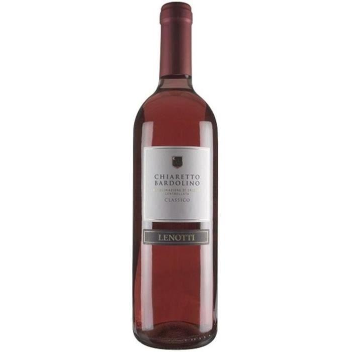 LENOTTI 2016 Bardolino Classico chiaretto Vin d'Italie - Rosé - 75 cl
