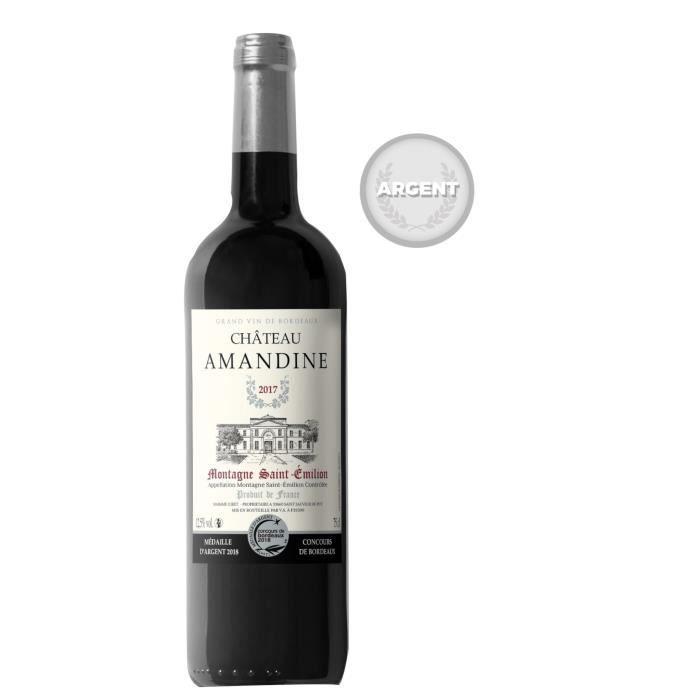 Château Amandine 2017 Montagne Saint-Emilion - Vin Rouge du Bordelais
