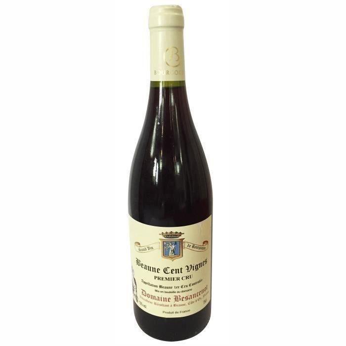 Domaine Besancenot 2018 Beaune Cent Vignes 1er cru - Vin Rouge de Bourgogne