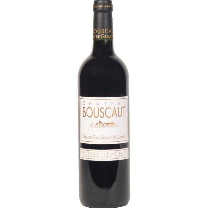 Château Bouscaut 2017 Pessac Léognan - Vin rouge de Bordeaux x1