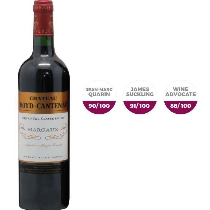 Château Boyd Cantenac 2017 Margaux Grand Cru - Vin rouge de Bordeaux